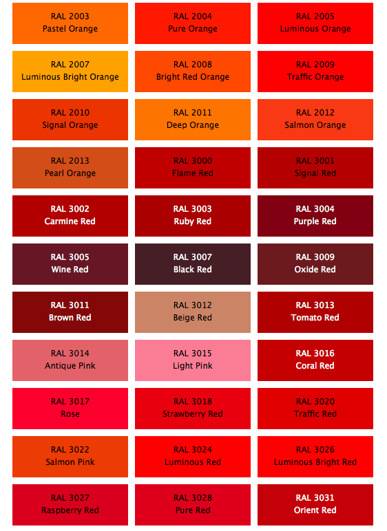 Permalink to Brick Color Codes